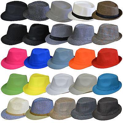 Panamahut Mütze Strohhut Trilby Hut Gartenhut Hutband Sommerhut Damen Herren