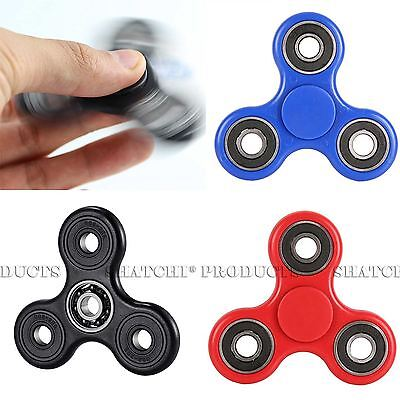 Fidget Hand Finger Spinner EDC Pocket Desk Focus ADHD Party Bag Fillers Toys