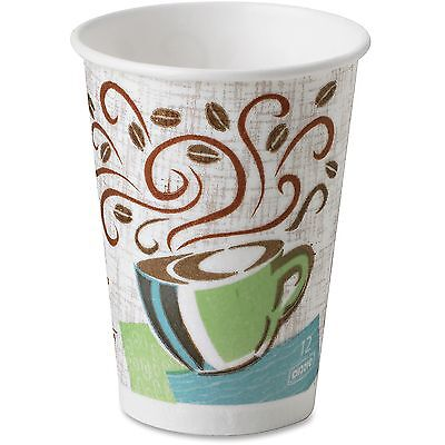 Dixie Perfect Touch Hot Cup Wise Size 12 oz 25/PK Multi 5342DXPK
