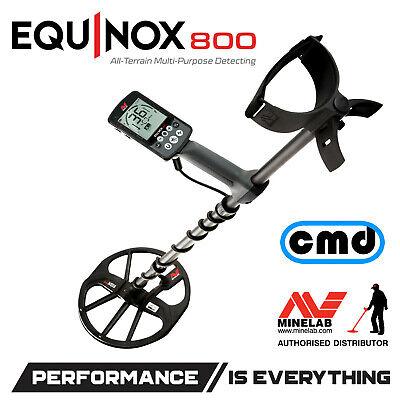 Minelab Equinox 800 Multi-Frequency Metal Detector