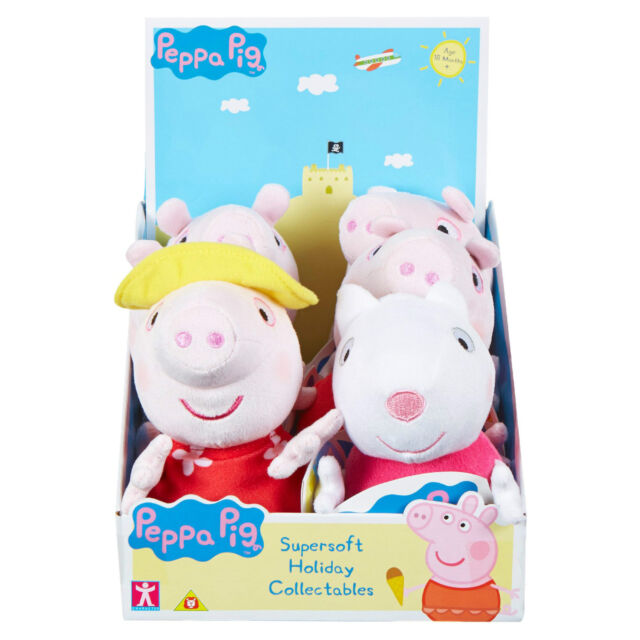 NEW Peppa Pig Supersoft Holiday Collectable Plush