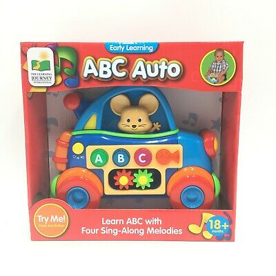 NEW Early Learning ABC Auto Mouse Educational Fun Toys Sing Along