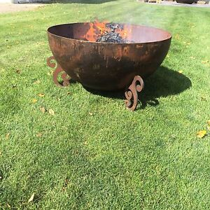 CRUSHER CONES FIRE BOWLS AND COWBOY CAULDRONS