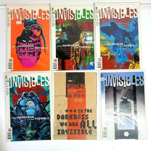 DC/Vertigo Invisibles Vol. 1 #1-17 Grant Morrison 1994-96 Comic Books CB1