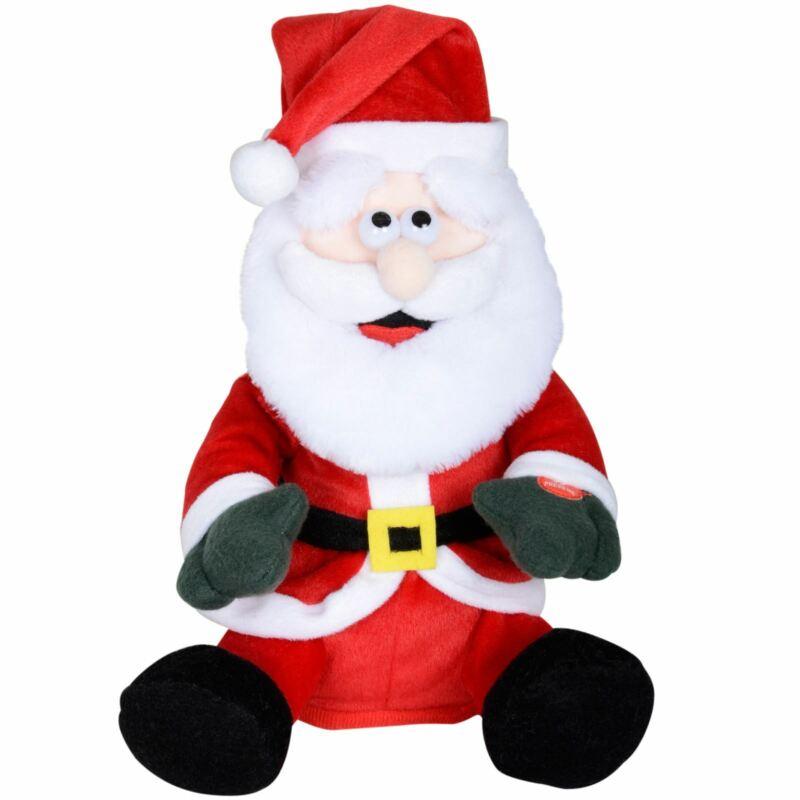 Animated+Plush+Dancing+Musical+Santa+Claus+Christmas+Decoration+Xmas+Rap+Song