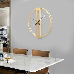Wall Clock, Modern Silent Non Numeric Clock, Minimalist Round Wall Clocks