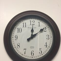 "Wall Clock 11"" Sterling and Noble. Serial No. 2,055,787 Mfg No.9"