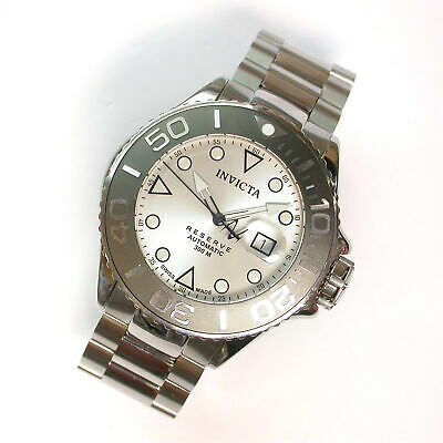 NEW $2295 GENTS INVICTA 50MM RESERVE GRAND DIVER SWISS AUTOMATIC WATCH 22851