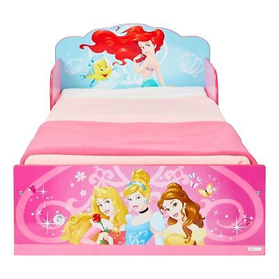 70x140 Kinderbett Kindermöbel Babybett Prinzessin Bett Pink (Baby Disney Princess)