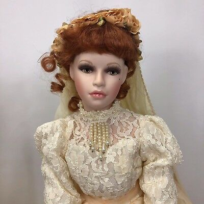 "'Savannah'  26"" Tom Francirek Seymour Mann Lmt Edition Connoisseur Bride Doll"