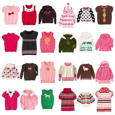 7693fdaea0d NWT Gymboree Kids Girl Cardigan Top Hoodie Sweater Vest Ship Fast