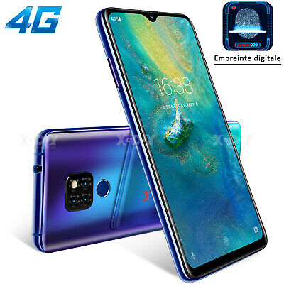 "Android Phone - XGODY 16GB 6.26"" Unlocked 4G Android 9.0 Mobile Smart Phones 2SIM Fingerprint HD"