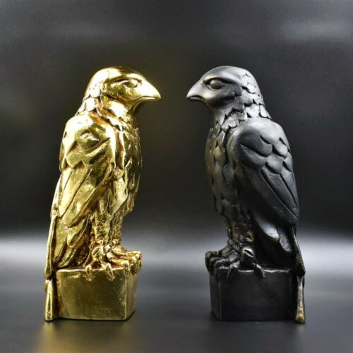 The Maltese Falcon Statue Prop WITH SECRET COMPARTMENT and NEW GOLD EDITION  !!!