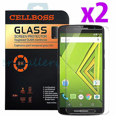 For Motorola Moto X Actions / Droid MAXX 2 Premium Tempered Glass Screen Protector