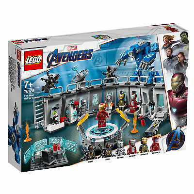 76125 LEGO Iron Man Hall of Armor Marvel Avengers Comics Super Heroes 524 Pieces
