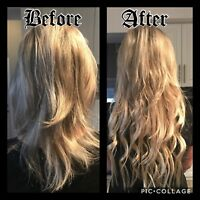 Semi-Permanent Hair Extensions! No tape, No glue, No weave!!