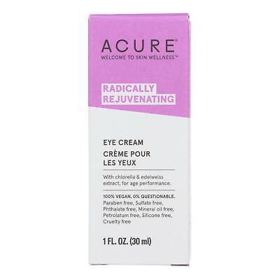 Acure Organics Eye Cream Chlorella + Edelweiss Stem Cell