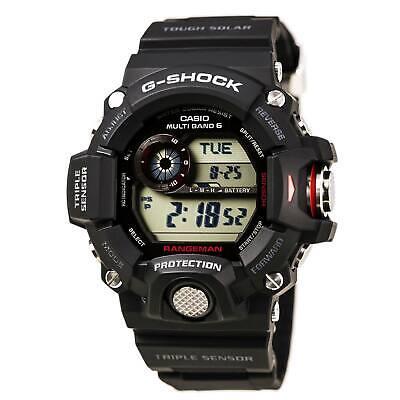 Casio GW9400-1 Men's G-Shock Rangeman Tough Solar Digital Watch