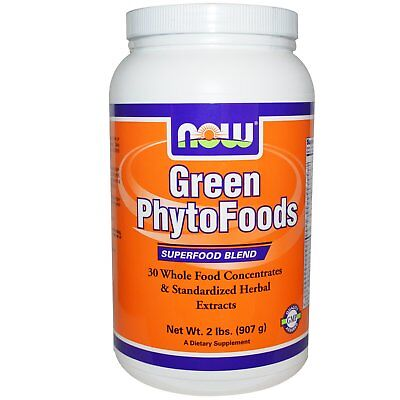Now Foods Green PhytoFoods Superfood Powder Blend -  2 lbs 2 Lb Powder Now Foods
