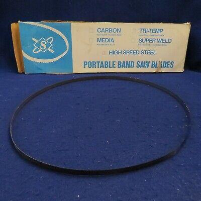 Diamond Saw 4 5-34 X 12 X .020 High Speed Steel Portable Band Saw Blade