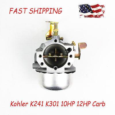 New Carburetor For Kohler K241 K301 10HP 12HP Cast Iron Engines Carb Cub Cadet