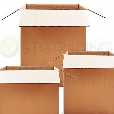 5 x STRONG DOUBLE WALL REMOVAL MAILING BOXES 16x16x16