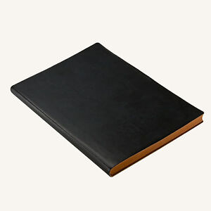 A5 LUXURY Lined Ruled Notebook Italian Leather Travel Journal Multi Colour color