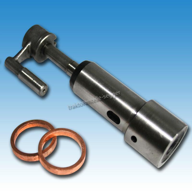 Pumpenelement m. Kupferringen für F1L612, F2 L612 Einspritzpumpenelement Traktor Foto 1