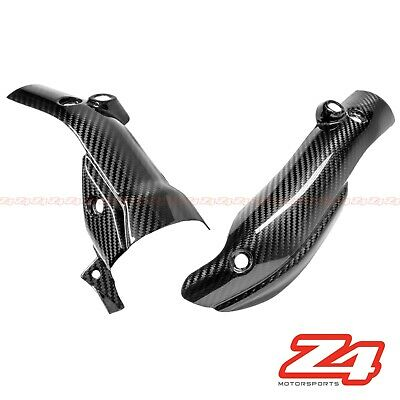 2009-2014 R1 Exhaust Slip On Muffler Pipe Heat Shield Fairing Cowl Carbon Fiber  for sale  Shipping to Canada