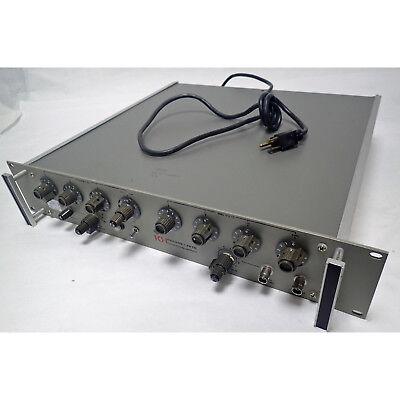 Krohn-hite 4025ar Audio Rack Mount Oscillator 0.001 To 100khz Frequency Range