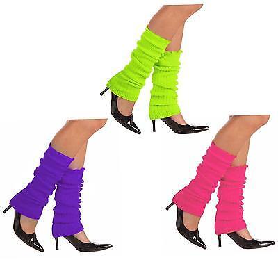 Neon 80's Style Leg Warmers - Green, Orange, Pink, or Purple (80s Style Leg Warmers)