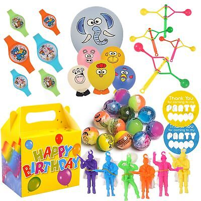 Party Bag Toys For Boys (Boys Pre Packed Party Box & Fillers Ready Made Bag Toys For Children)