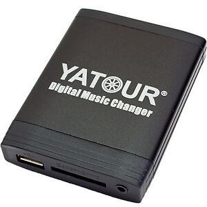 Yatour USB SD AUX MP3 Adapter BMW E46 E39 E38 E53 Z4 für 16:9 BM24 BM54