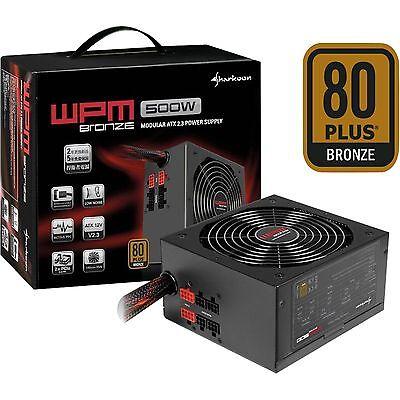 Sharkoon WPM500 Bronze, PC-Netzteil, schwarz