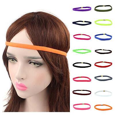 Sporthaarband Stirnband Haargummi Haarband für Sport Fussball, Yoga, Fitness