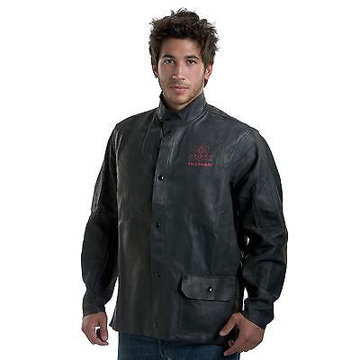 Tillman 3930 Black Onyx Heavy Duty Top Grain Cowhide Jacket - L
