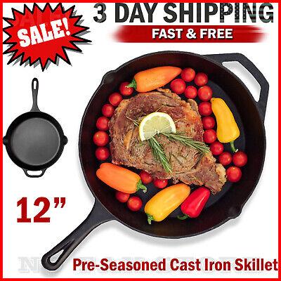 Cast iron skillet 12