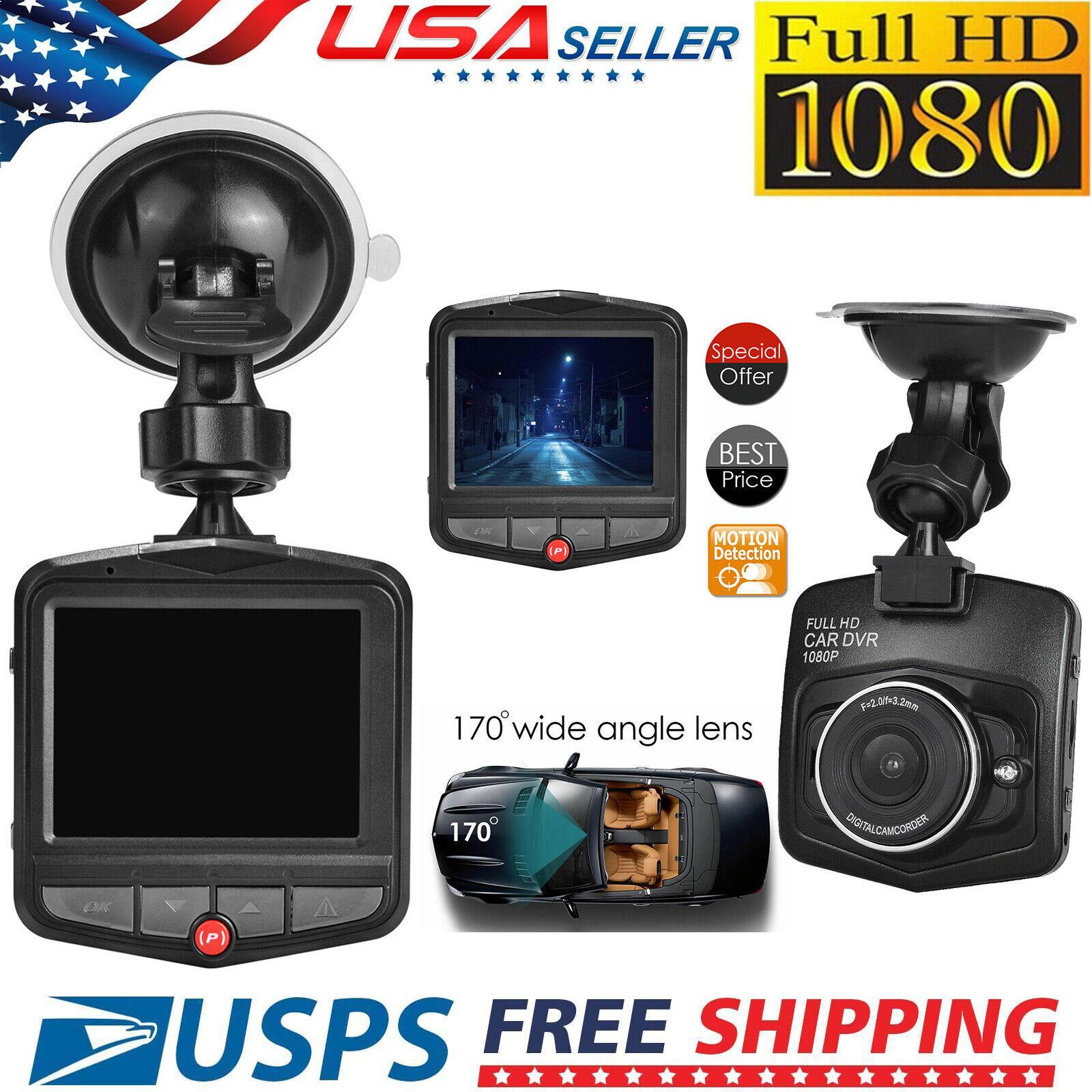 1080P HD Car DVR Camera Dashboard Video Recorder Dash Cam G-