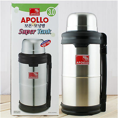 Big Vacuum Insulated Stainless Steel Hot Cool Water Drink Beverage Bottle Jug