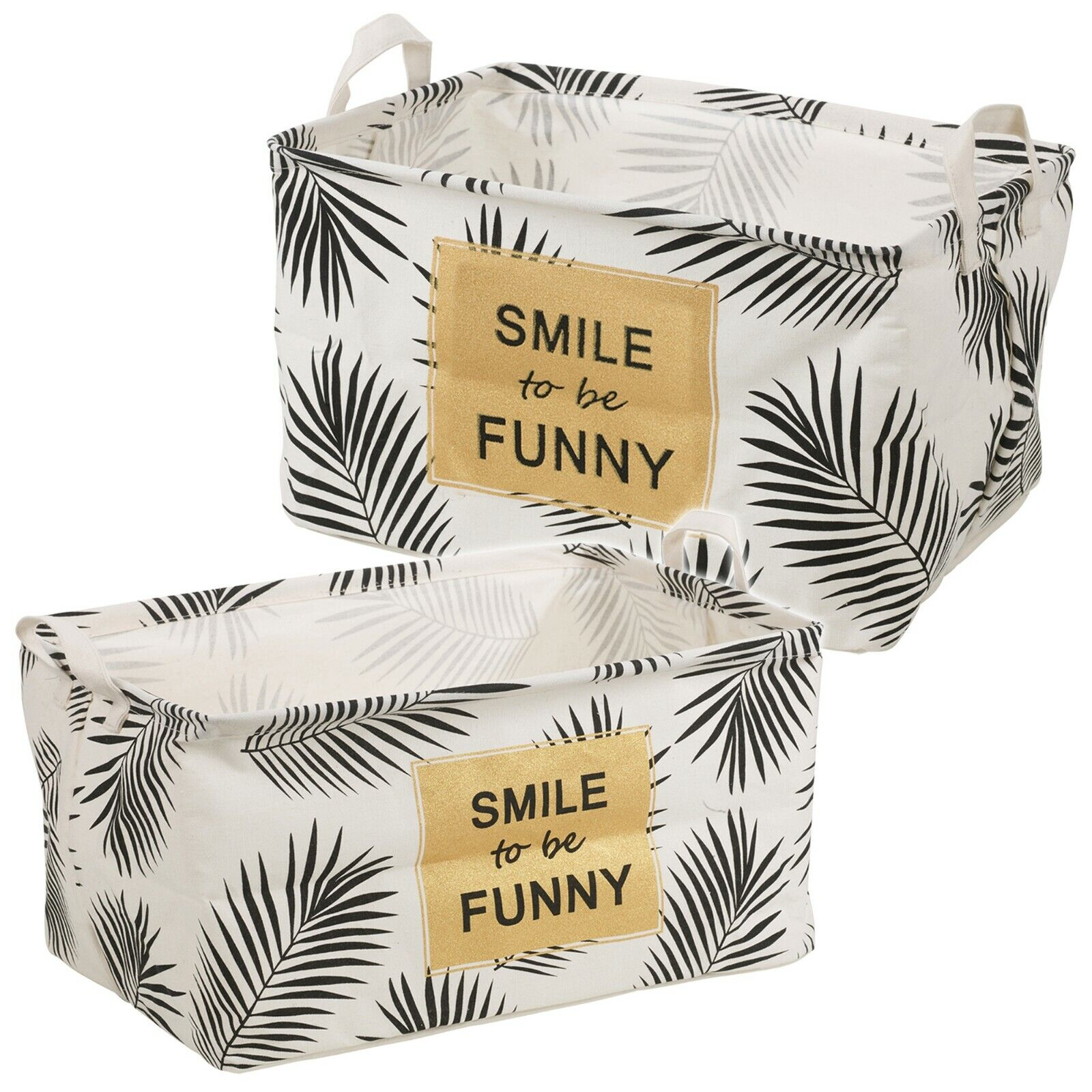 Fabric Foldable Collapsible Bag Recyclable Cloth Storage Lau