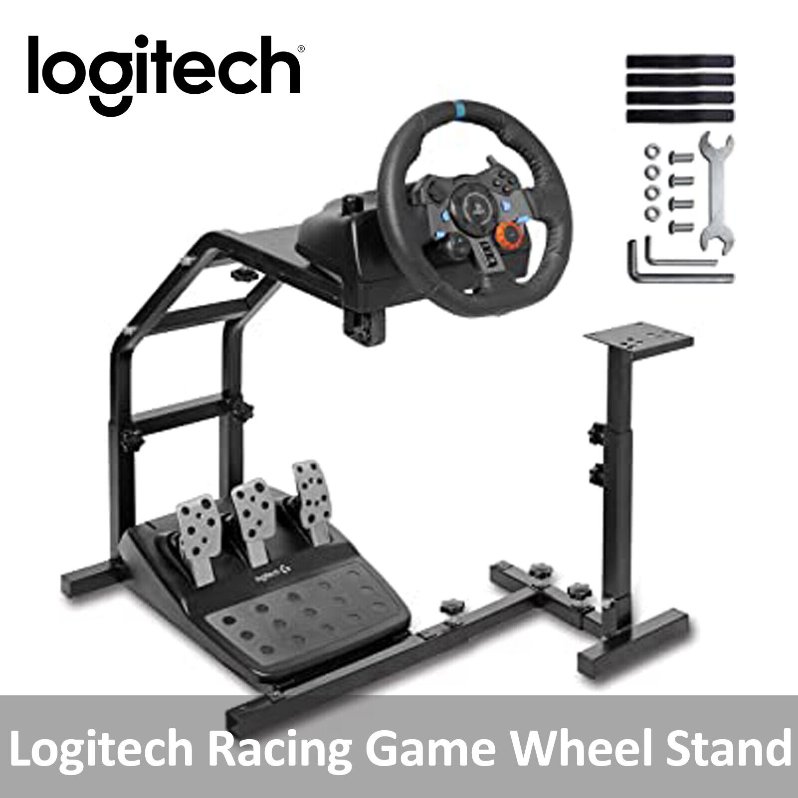 Logitech Driving Gaming Mounting Plate Gt G29 G27 G25 Racing Wheel Stand Ebay