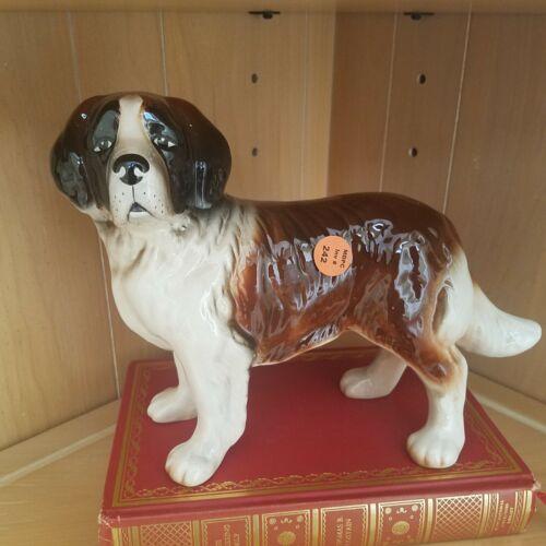 Melba Ware England  Saint Bernard Figurine  9 inches