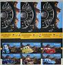 6 Different DISNEYLAND Passport Disney & Pixar's CARS LAND Gift Cards 2012-2013