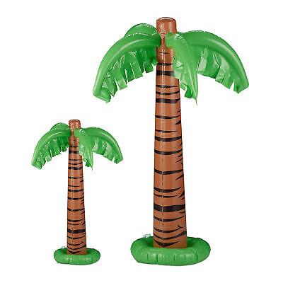 2 x Aufblasbare Palme, Dekopalme, Poolparty, Partypalme, Pool Deko, Aufblaspalme