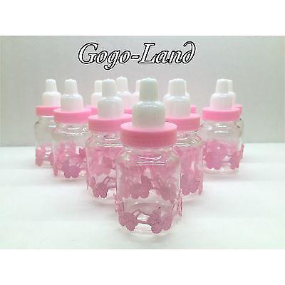 36 Fillable Bottles For Baby Shower Favors Pink Party - Party Favors For Girl Baby Shower