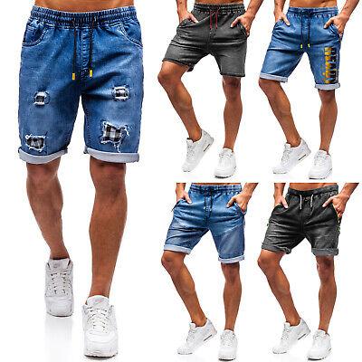 Jeans (Shorts Jeans Bermudas Denim Kurzhose Freizeit Classic Herren Mix BOLF 7G7 Casual)