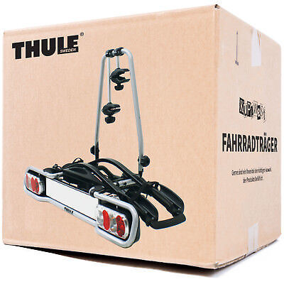 Thule Euro Ride 940 Fahrradträger für 2 Fahrräder auf die Anhängerkupplung NEU