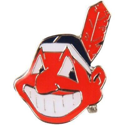 Cleveland Indians Retro CHIEF WAHOO Logo Metal Lapel Pin Hat Baseball Cleveland Indians Baseball Hat