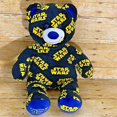 Bears In Star Wars (Build a Bear Star Wars Logo Plush Teddy Bear Music Chip in)
