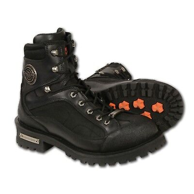 """Milwaukee Leather  Men's 6"""" Lace to Toe Boot w/ Gear Shift Protection**MBM9080W"""
